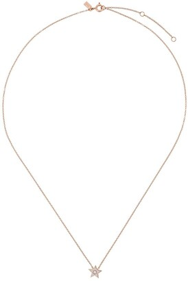 Ef Collection 14kt Gold Star Diamond Necklace