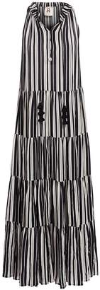 Figue Bohemian Rhapsody Betty Stripe Maxi Dress