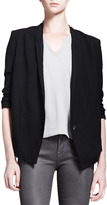 Helmut Lang HELMUT Slouchy Single-Button Suiting Jacket