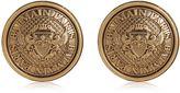 Balmain Coin Earrings