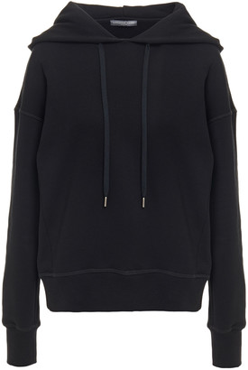 Alexander McQueen Embroidered Cotton-fleece Hoodie