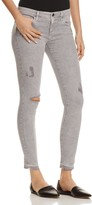 AG Jeans Super Skinny Ankle Jeans in Intersteller Worn-Silver Ash