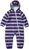 Patagonia Reversible Puff-Ball Bunting (Baby) - Mini Shadow Floret/Violetti-12 Months