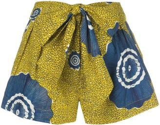 Ulla Johnson Martim abstract print shorts