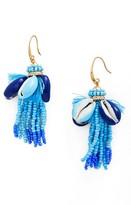 Rebecca Minkoff Women's Lola Seed Bead Tassel Earrings