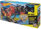 Hot Wheels Monster Jam Smash-Up Station Track Set