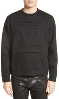 Versace Men's Large Logo Sweatshirt
