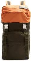 Marni Colour-block nylon backpack