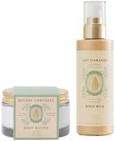 Panier des Sens Sweet Almond Body Milk & Body Butter 2-Piece Set
