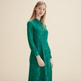 Maje Silk shirt dress