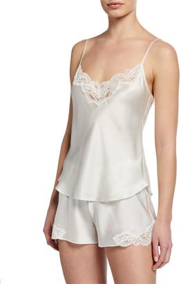 Christine Lingerie Bijoux Short Silk Pajama Set