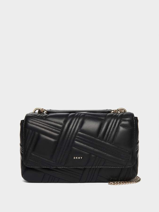 DKNY Allen Leather Shoulder Bag
