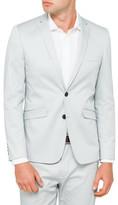 STUDIO W Cotton Sateen Suit Jacket