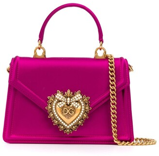 Dolce & Gabbana Logo Plaque Cross Body Bag