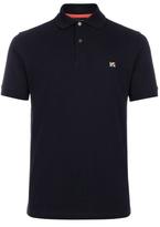Paul Smith Men's Navy Cotton-Pique Flag-Motif Polo Shirt