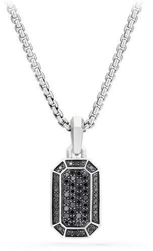 David Yurman Men's Amulet Pavé Pendant Enhancer