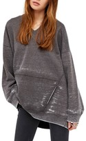 Free People Women's Get It Pullover Hoodie