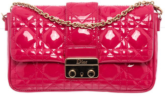 Christian Dior Pink Patent Leather Miss Promenade Pouch