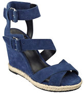 Marc Fisher Karla Suede Espadrille Wedge Sandals