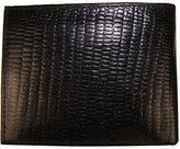 AG Jeans A&G Genuine Leather Snake Skin Designed Bi-fold Men's Embossed Wallet