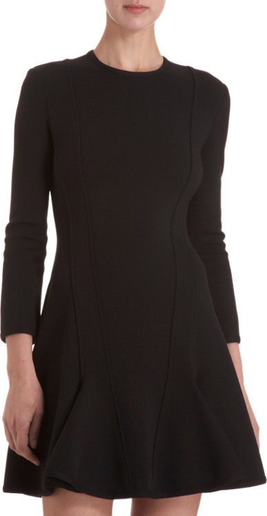 Givenchy Knit Flare Dress