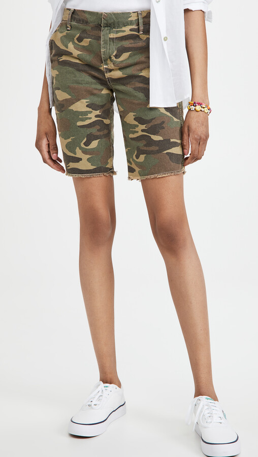 Thumbnail for your product : Sundry Camo Bermuda Shorts