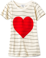 Wildfox Couture Tourist Vintage Hearts Top