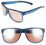 adidas Women's Sprung 60Mm Sunglasses - Transparent Blue/ Taupe