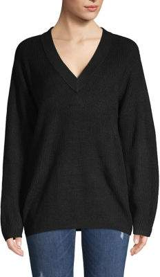 Vince Camuto Ribbed V-Neck Sweater