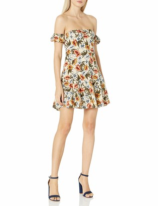 Lucca Couture Women's Shoulder Knit Dress