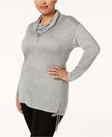 MICHAEL Michael Kors Size Cowl-Neck Pullover Top