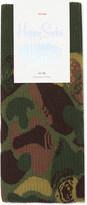 Happy Socks Billionaire boys club camouflage cotton socks