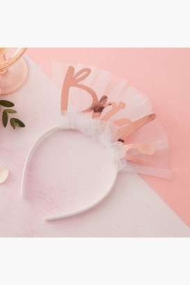 boohoo Ginger Ray Bride Headband