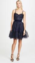 Costarellos Lace Corset Dress