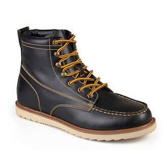 Wyatt VANCE CO Vance Co Mens Work Boots Flat Heel