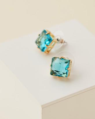 Lele Sadoughi Ashford Crystal Stud Earrings
