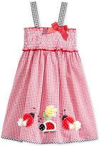 Good Lad Lady Bug Seersucker Dress, Little Girls (2-6X)