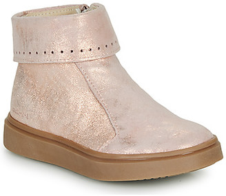Catimini CAMOMILLE girls's Mid Boots in Pink