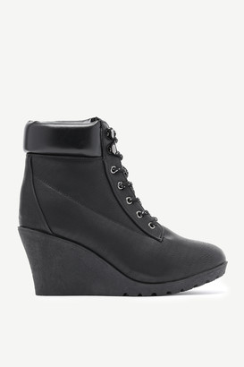 Ardene Wedge Ankle Boots