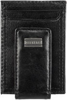 Dockers Leather Magnetic Money Clip Front Pocket Wallet