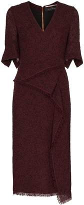 Roland Mouret Marengo draped midi dress
