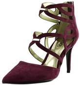 Carlos by Carlos Santana Thea Women Pointed Toe Suede Burgundy Heels.