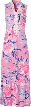 Pappagallo Women's Collar Maxi Dress