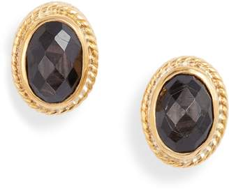 Anna Beck Stone Oval Stud Earrings