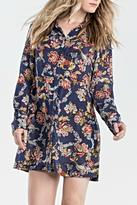 Miss Me Floral Shirt Dress