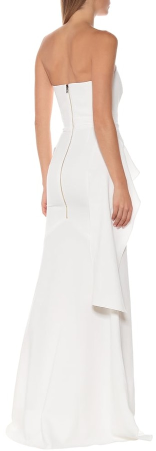 Thumbnail for your product : Roland Mouret Galloway wool bridal gown