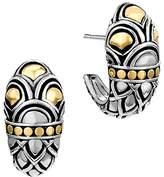 John Hardy Sterling Silver & 18K Gold Naga Shrimp Earrings