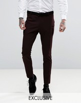 Religion Super Skinny Suit Trouser With Patch Pocket