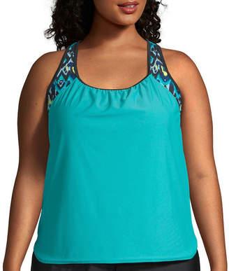 Plus Size Swimwear Blouson Shopstyle