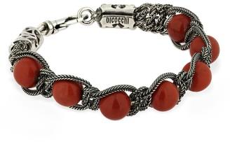 Emanuele Bicocchi Beaded Red Jasper Bracelet